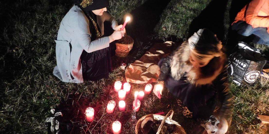 Vrăjitoarele Morgana și Venus, ritual de noapte de excepție pentru TVC Moscova